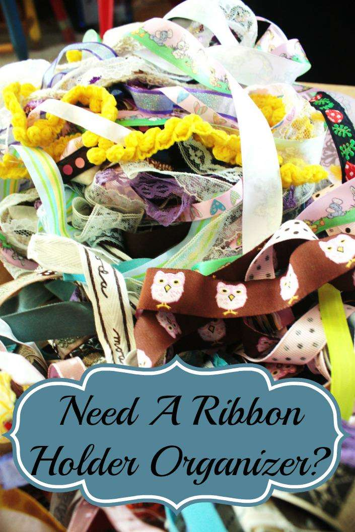 Ribbon Holder Organizer