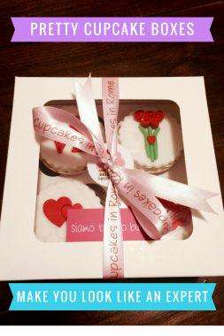 Cupcake Gift Boxes