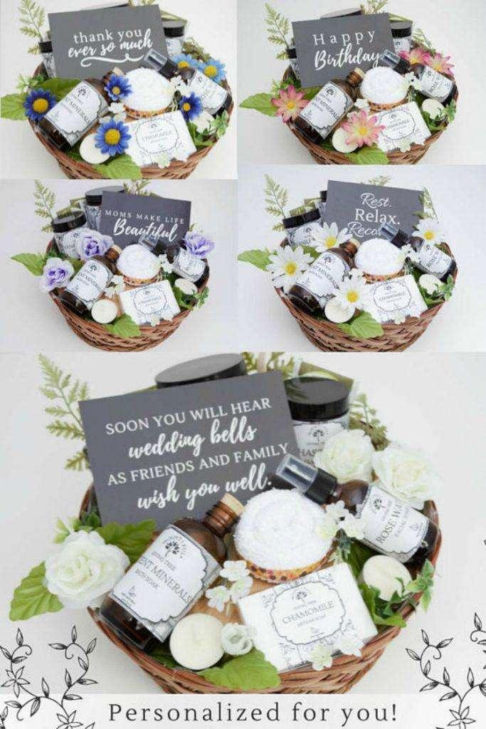 Spa Gift Baskets Women Will Love Fancy Gift Wrap