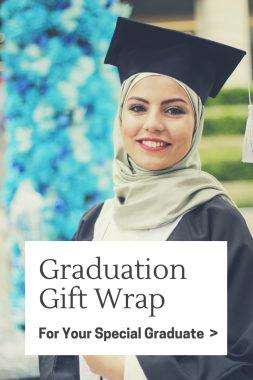 Graduation Gift Wrap