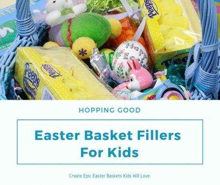 Easter Basket Fillers For Kids